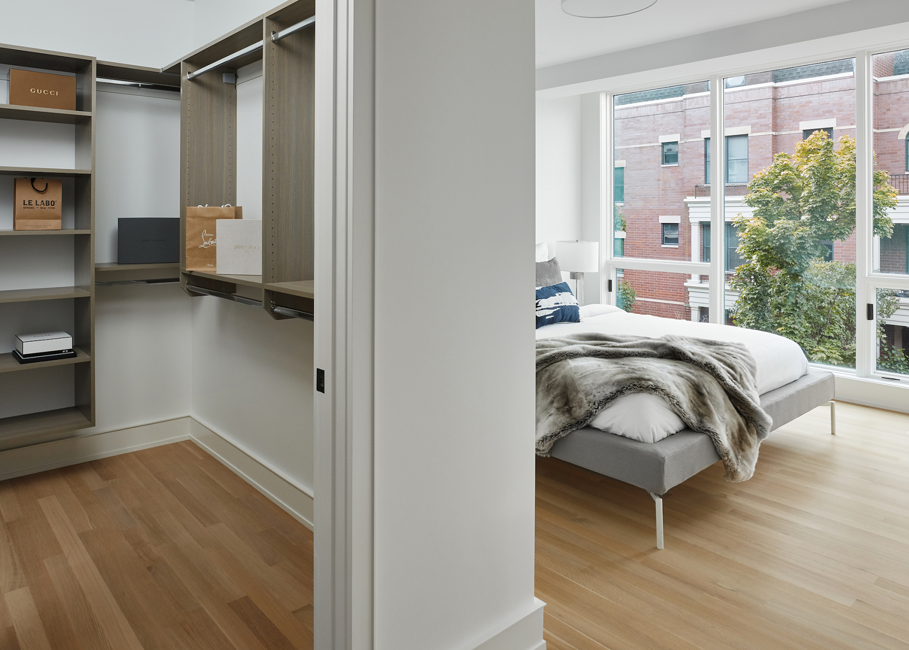 Lincoln Park Luxury Apartment Interior
